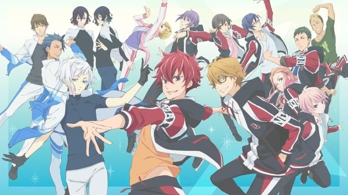38 Anime estrenos invierno - Skate-Leading☆Stars