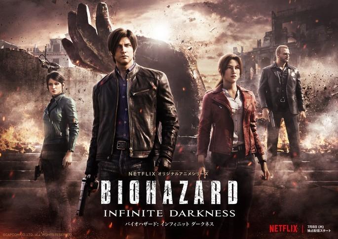 38 - Anime estrenos verano - Biohazard Infinite Darkness