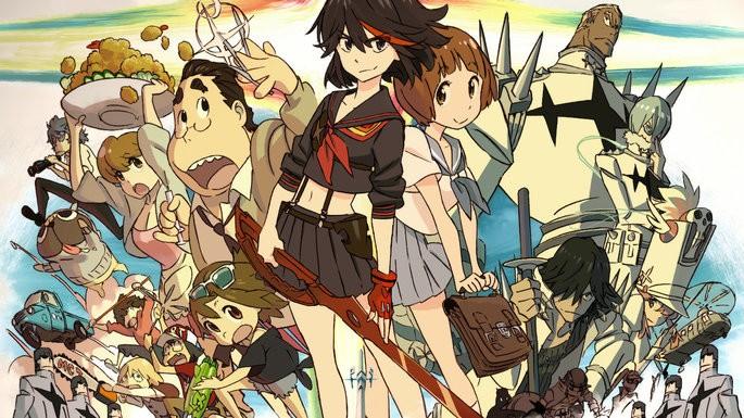38 - Mejores anime de la historia - Kill la Kill