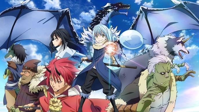 4 Anime estrenos invierno - Tensei shitara Slime Datta Ken 2nd Season