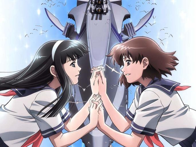 4 Blue Drop Tenshitachi no Gikyoku Anime Shoujo Ai