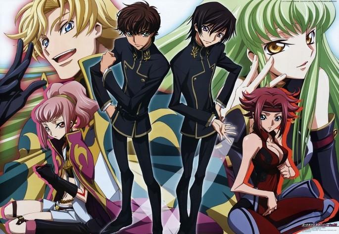 4 Code Geass Anime Netflix