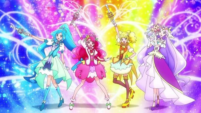 4 - Estrenos anime marzo - Healin' Good♡Precure Movie Yume no Machi de Kyun! Tto GoGo! Dai Henshin!!