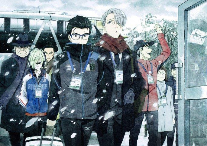 4 - Los mejores anime yaoi - Yuri!! On Ice