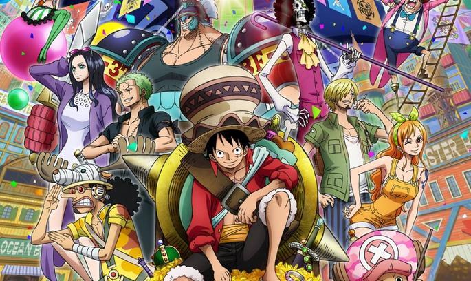 4 - Mejores anime de la historia - One Piece
