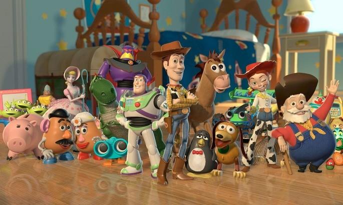 4 Peliculas animadas - Toy Story