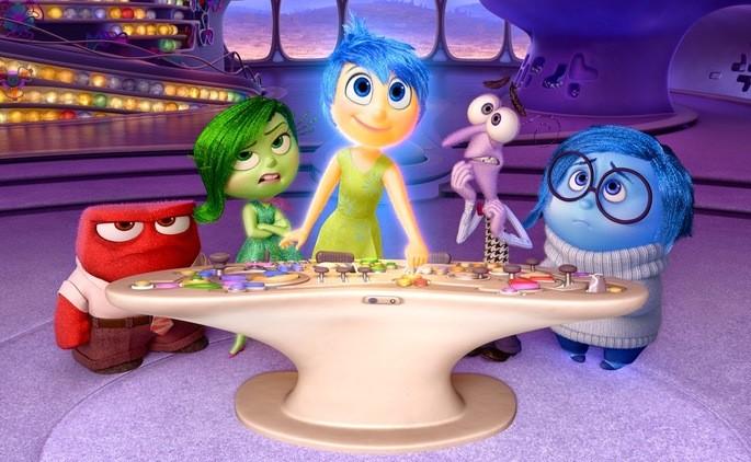 4 - Películas de Pixar - Inside Out