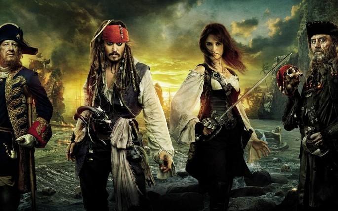 4- Piratas del Caribe Navegando en aguas misteriosas