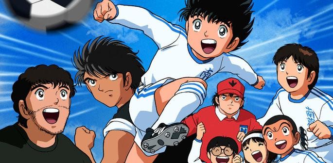 40 Animes de accion - Captain Tsubasa