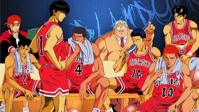 41 Animes de accion - Slam Dunk