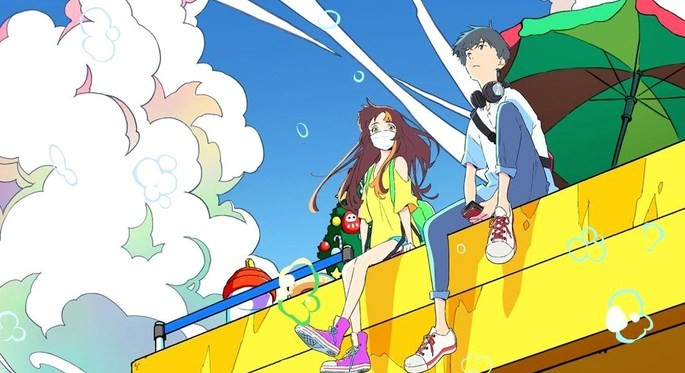 43 - Anime temporada primavera - Cider no You ni Kotoba ga Wakiagaru