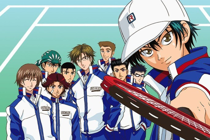 44 Animes de accion - Prince of Tennis
