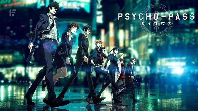 45 Animes de accion - Psycho-Pass