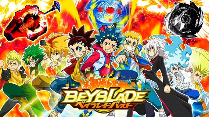 45 Beyblade Burst Super King Estrenos Anime Abril