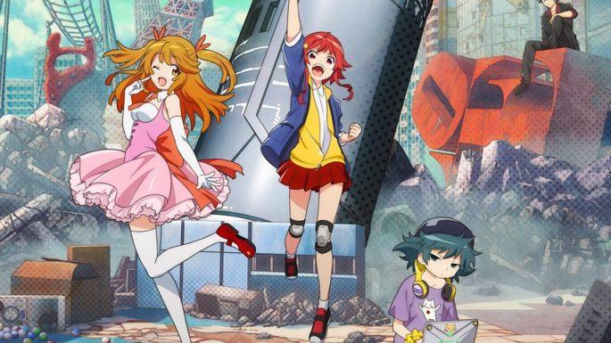 45 - Estrenos anime otoño - Gyakuten Sekai no Denchi Shoujo