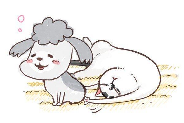 45 Estrenos anime otoño - Inu to Neko Docchi mo Katteru to Mainichi Tanoshii