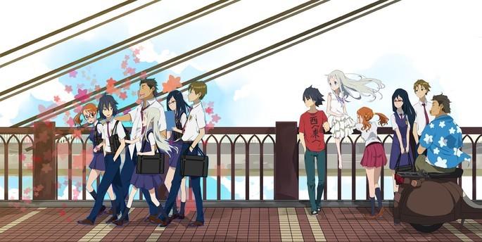 45 - Mejores anime de la historia - AnoHana