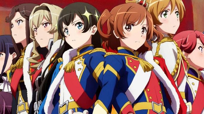47 - Anime temporada primavera - Shoujo☆Kageki Revue Starlight Movie
