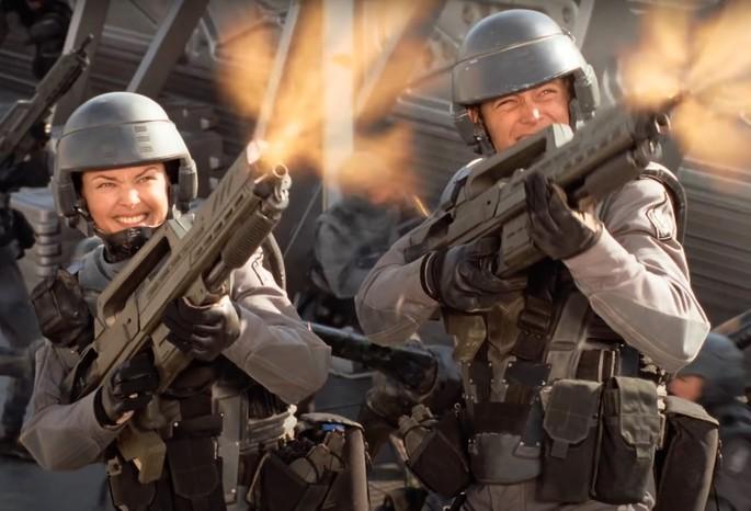 48 - Peliculas de extraterrestres - Starship Troopers
