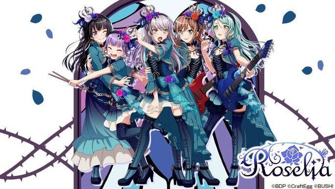 49 - Anime temporada primavera - BanG Dream! Movie Episode of Roselia - II Song I Am.