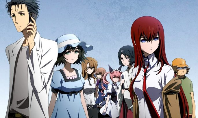 49 Animes de accion - Steins;Gate