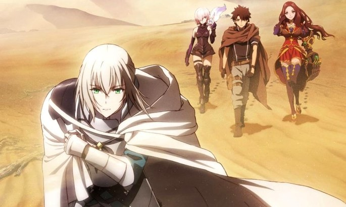 49 Estrenos anime otoño - FateGrand Order Shinsei Entaku Ryouiki Camelot 1 - Wandering Agateram