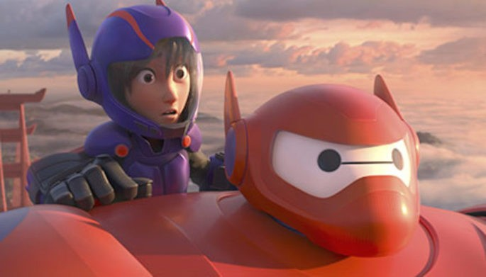 49 Peliculas animadas - Big Hero Six