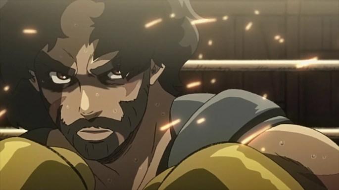 5-  Anime temporada primavera -Nomad Megalo Box 2