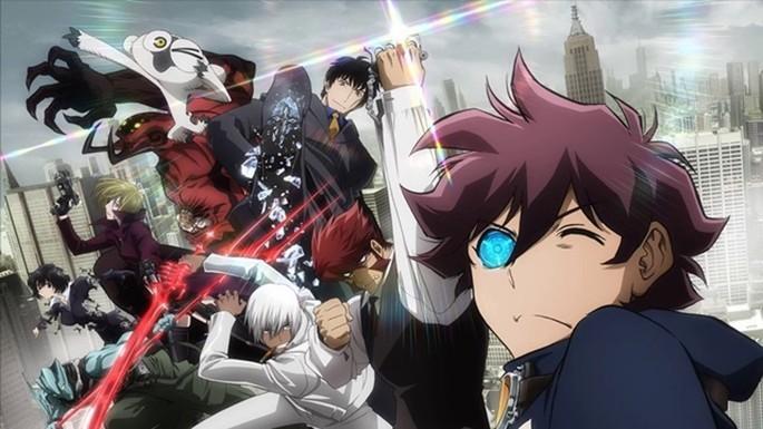 5 Anime vampiros - Kekkai Sensen
