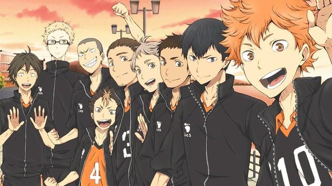 5 Haikyuu!! Mejores Anime Shounen