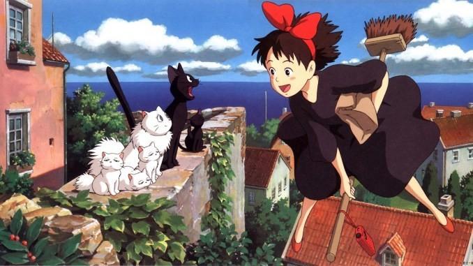 5 - Las mejores películas de anime - Kiki: Entregas a domicilio