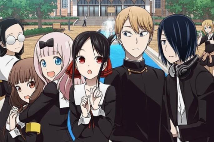 5 - Los mejores anime de romance - Kaguya-sama Love is War