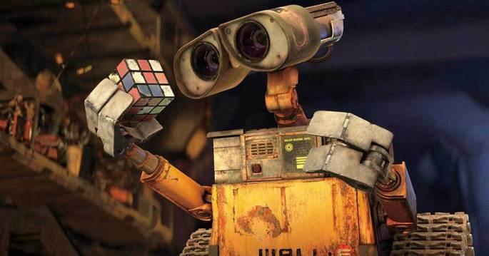 5 Peliculas animadas - Wall-E