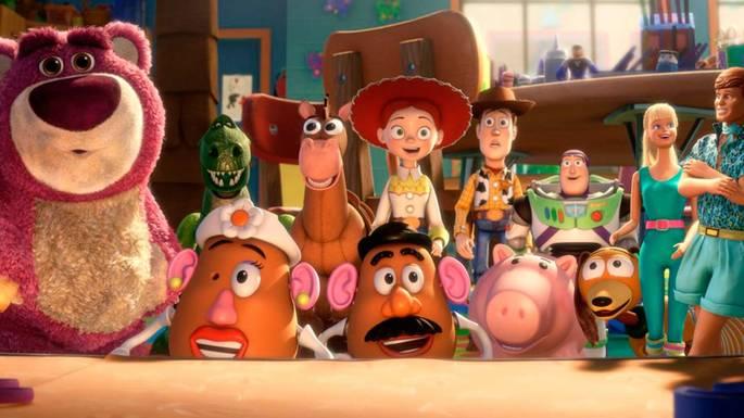 5 - Películas de Pixar - Toy Story 3