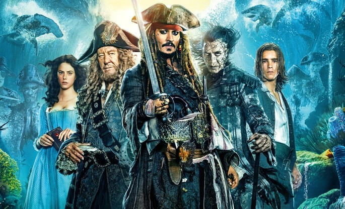 5- Piratas del Caribe La venganza de Salazar