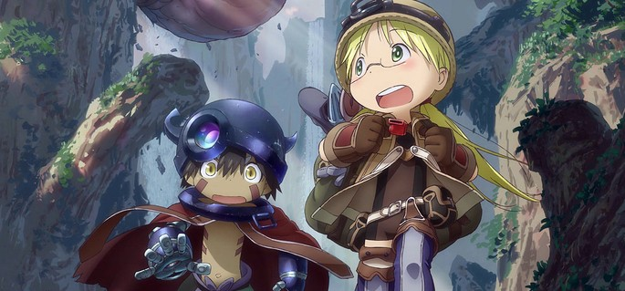 50 Animes de accion - Made in Abyss