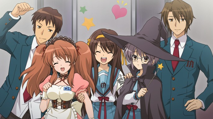 50 - Mejores anime de la historia - Suzumiya Haruhi