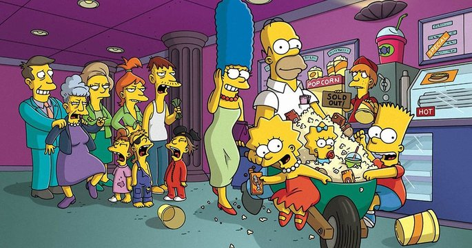 50 Peliculas animadas - The Simpsons Movie