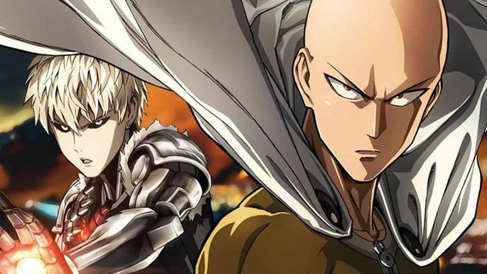 51 Animes de accion - One Punch Man