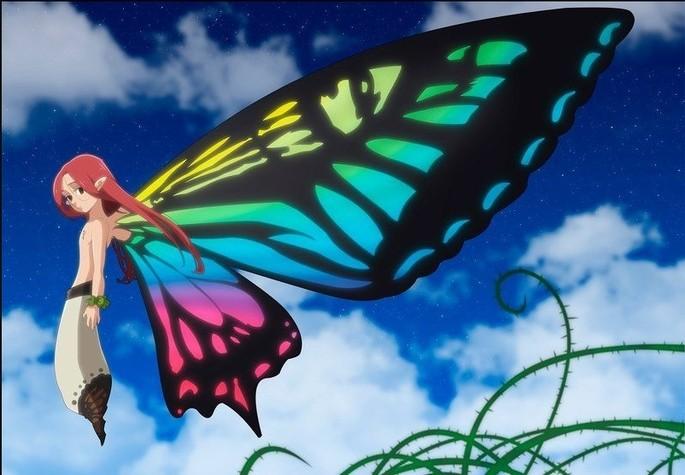 51 Nanatsu No Taizai Personajes - Gloxinia