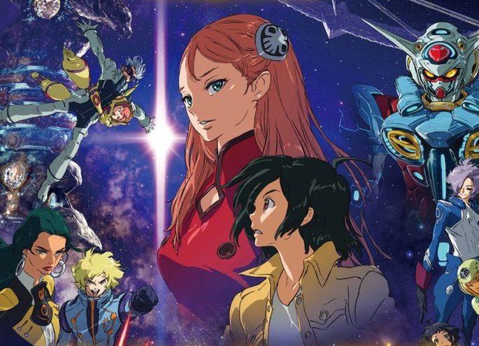 52 - Anime estrenos verano - Gundam G no Reconguista Movie III - Uchuu kara no Isan