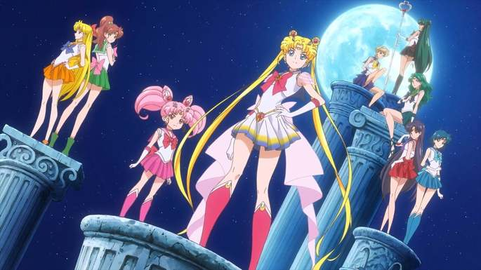 53 Anime estrenos invierno - Bishoujo Senshi Sailor Moon Eternal Movie 1
