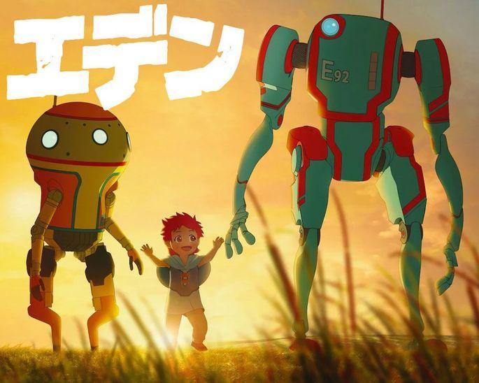 53 - Anime temporada primavera - Eden (ONA)