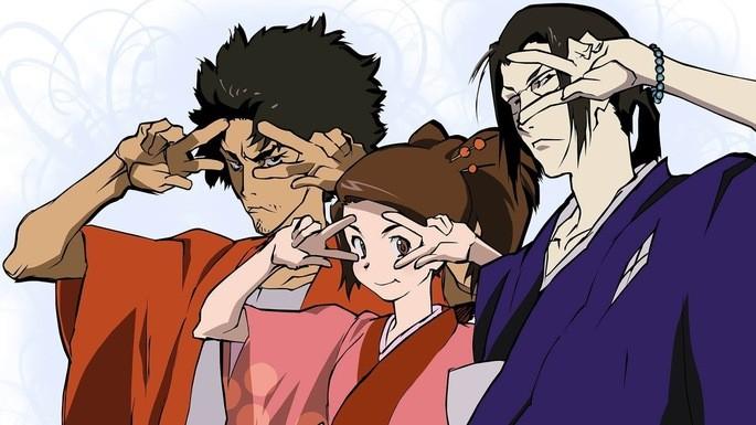 53 - Mejores anime de la historia - Samurai Champloo