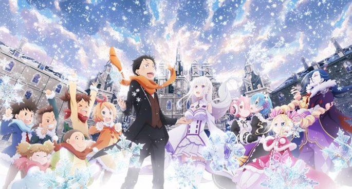 54 Animes de accion - ReZero Kara Hajimeru Isekai Seikatsu
