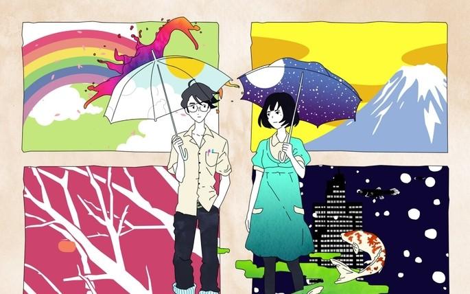 54 - Mejores anime de la historia - The Tatami Galaxy