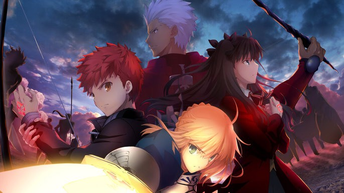 55 Animes de accion - Fate/Stay Night