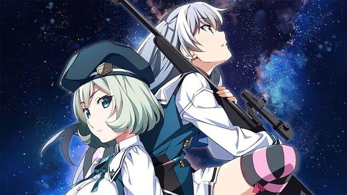 55 Estrenos anime otoño - Grisaia Phantom Trigger The Animation - Stargazer