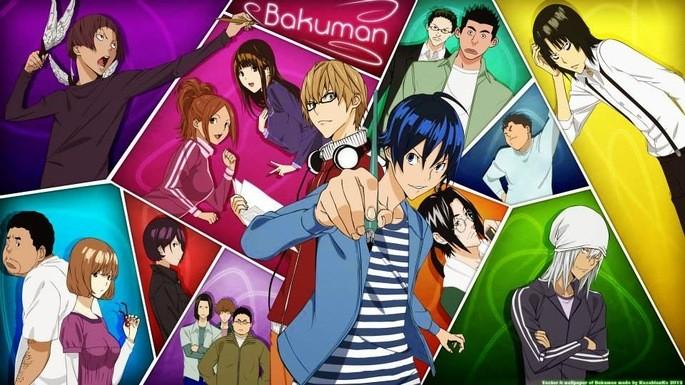 55 - Mejores anime de la historia - Bakuman