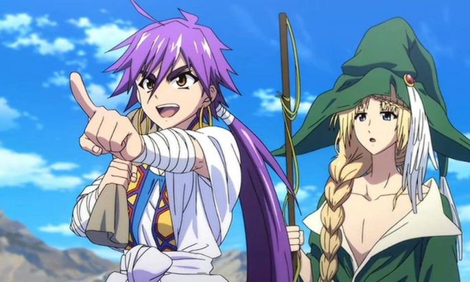 56 Animes de accion - Magi Adventure of Sinbad